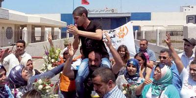 Liberté provisoire pour les manifestants du 6 avril