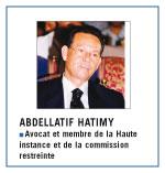 Abdellatif Hatimy : «On peut réformer la justice, mais le grand défi sera la probité et l'incorruptibilité»