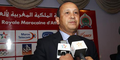 Ahizoune réélu à la tête de la fédération d'athlétisme