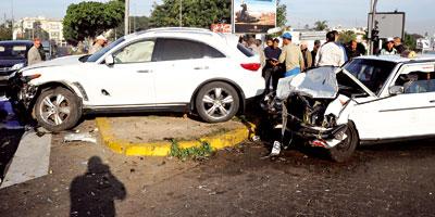 Maroc/Accidents : Baisse de 9,25% des morts à fin octobre 2014