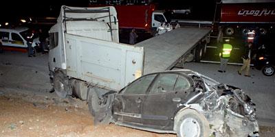 Maroc Accidents : 8 morts et 1 161 blessés en une semaine !