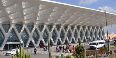 Aéroport de Marrakech: légère hausse du trafic passager durant les sept premiers mois de 2015