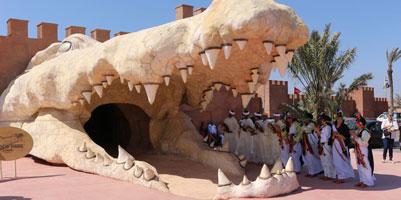 Agadir : 300 crocodiles là¢chés dans un nouveau parc