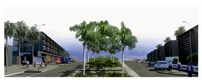 Détail du projet Atlantic Free Zone de Kenitra