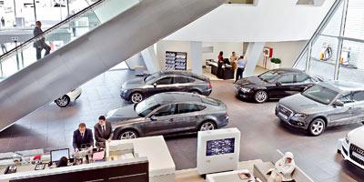 CAC investit 80 MDH dans un showroom Audi