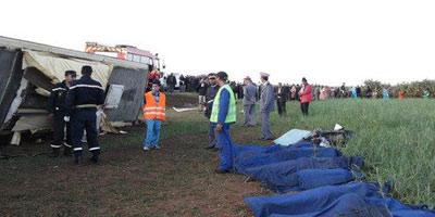 Maroc – Accidents : 7morts dans un accident de la route près de Sidi Bennour