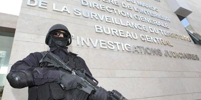 BCIJ : Démantèlement d'une cellule terroriste à Safi