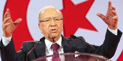 Tunisie : Béji Caïd Essebsi vainqueur de la présidentielle avec 55,68% des voix