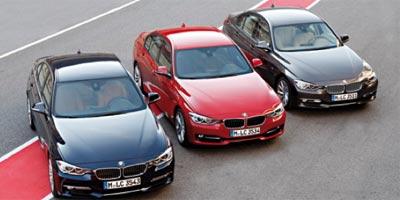 Test drive de la BMW série 3