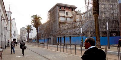 Tramway de Casa : l'hôtel Lincoln fausse l'opération d'embellissement du boulevard Mohammed V