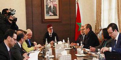 M. Benkirane s'entretient avec une délégation de la Banque mondiale à Rabat