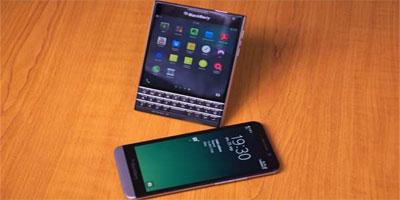 Blackberry lance un nouveau Smartphone carré