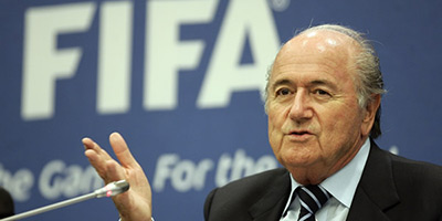 FIFA :  Blatter a déposé sa candidature à la présidence