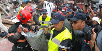 Immeubles effondrés à Casablanca : Le bilan atteint 23 morts