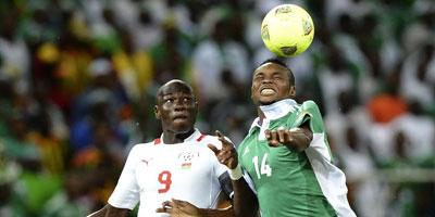 CAN 2013 : Les Zambiens, tenants du titre, éliminés, Nigeria et Burkina Faso qualifiés