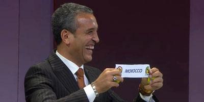 Can 2013 : Le Maroc dans le groupe A avec l'Afrique du Sud, l'Angola et le Cap Vert