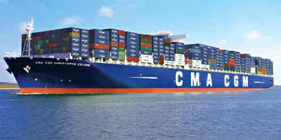 Le français CMA CGM remonte 200 MDH de sa filiale Comanav