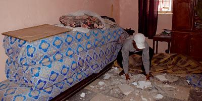 Médina de Casa : vivre avec la peur qu'un jour le toit vous tombe dessus