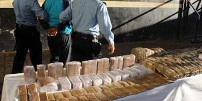 Saisie de 28 kg de Chira au point de passage de Bab Sebta
