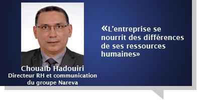 Chouaïb Hadouiri : L'entreprise se nourrit des différences  de ses ressources humaines