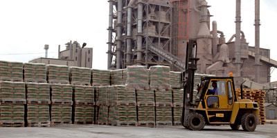 La consommation de ciment plonge dans toutes les régions