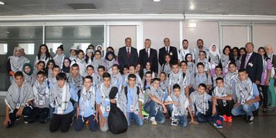 Colonie de vacances : 49 enfants palestiniens au Maroc pour 15 jours