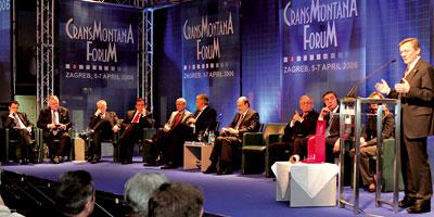 Crans Montana fête son jubilé à Rabat