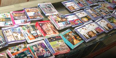 15 000 DVD piratés saisis à Meknès par le CCM