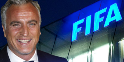 Football/Fifa : David Ginola veut se présenter contre Sepp Blatter