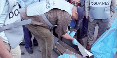 16 tonnes de chira saisies au port de Casablanca
