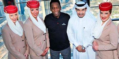 Emirates se met aux couleurs du Mondial brésilien