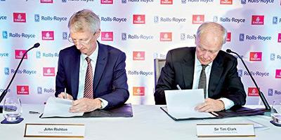 Commande record d'Emirates auprès de Rolls-Royce