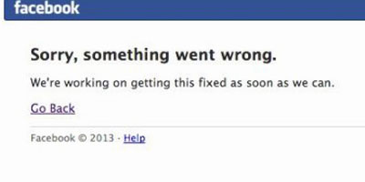 Bug Facebook : le réseau social inaccessible