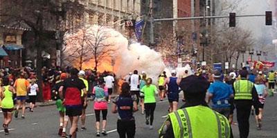 Explosions au marathon de Boston : un suspect a été identifié grà¢ce à une vidéo, selon CNN