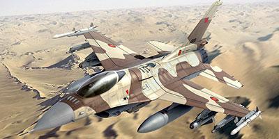 Yémen: un F-16 marocain Â«porté disparu»