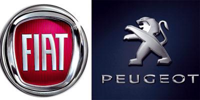 Fiat et Peugeot bientôt au coude-à-coude