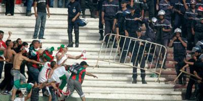 Chronologie des actes  de violence dans les stades