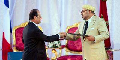 François Hollande qualifie de «réussie à tous points» sa visite au Maroc
