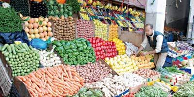Soutien à l'exportation des fruits et légumes
