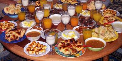 menu ramadan maroc