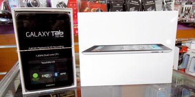 Tablettes tactiles : l'offre démarre désormais à moins de 2 000 DH