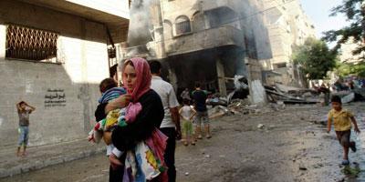 Gaza : un bilan d'au moins 100 morts depuis le début des raids israéliens