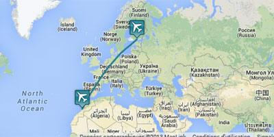 La liaison aérienne Helsinki-Agadir reprend après une interruption de plusieurs années