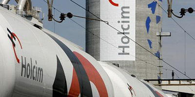 Holcim prépare l'intégration de son activité  avec Lafarge