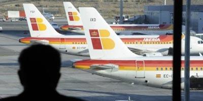 Iberia réduit la masse salariale des pilotes de 20%