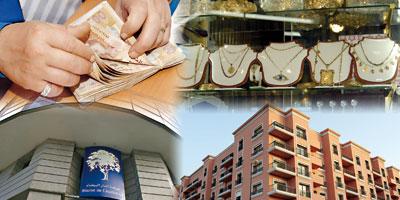 Immobilier, Bourse, Or… Ce qu'aurait rapporté 1 MDH en 5 ans