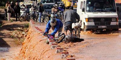 Inondations à Guelmim : La priorité au désenclavement et à la réparation des infrastructures