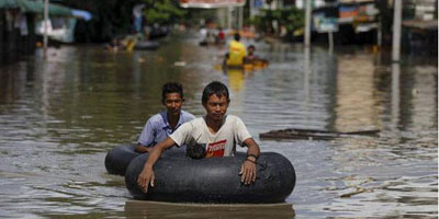 Plus de 100 morts et un million de personnes touchées par les inondations en Birmanie