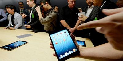 L'IPad mini d'Apple en vente en Europe après une sortie discrète en Asie