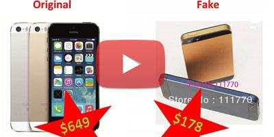 Faux Smartphone : Attention à la contrefaçon !